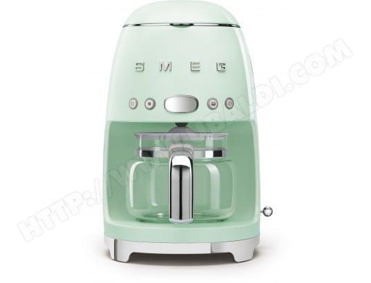 smeg dcf01pgeu vert d 39 eau pas cher cafeti re livraison gratuite. Black Bedroom Furniture Sets. Home Design Ideas