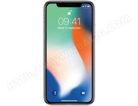 iPhone APPLE iPhone X 256Go Silver