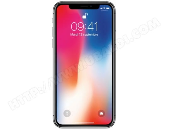 iPhone APPLE iPhone X 256Go Space Grey