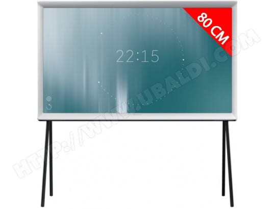 TV LED Full HD 80 cm SAMSUNG Serif - UE32LS001DUXZF Blanc