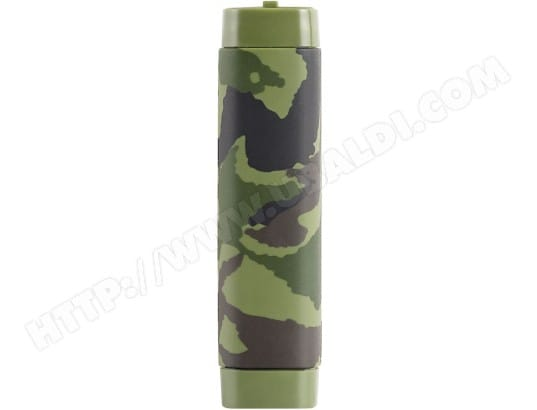 Batterie externe AIINO Water-Resistant Power Bank 2600 mAh - Camouflage