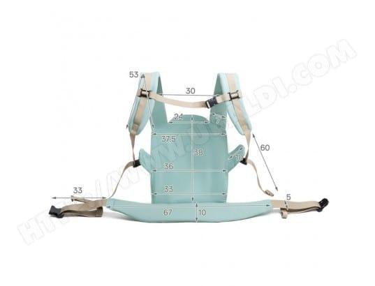 KINDERKRAFT - NINO Porte bébé ergonomique dès 3 mois de 3,2 kg à 20 kg Vert  MA-41CA326NINO-BBFOX f13587f1d69