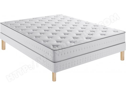 ensemble matelas sommier 90 x 190 simmons lit delicieux 90x190cm sommier lattes pieds. Black Bedroom Furniture Sets. Home Design Ideas