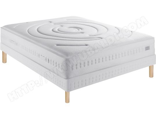 ensemble matelas sommier 90 x 190 simmons lit somptueux 90x190cm sommier mixte pieds. Black Bedroom Furniture Sets. Home Design Ideas