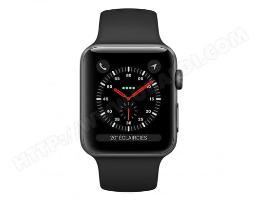 Montre connectée APPLE Watch Series 3 GPS + Cellular 42mm Pas Cher ... e7a6f8845a23