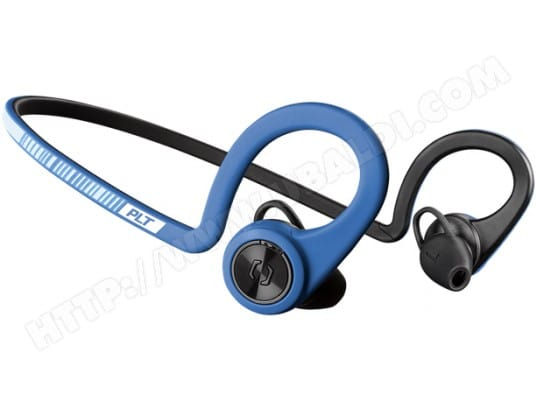 Casque sans fil PLANTRONICS BACK BEAT FIT - Power Blue