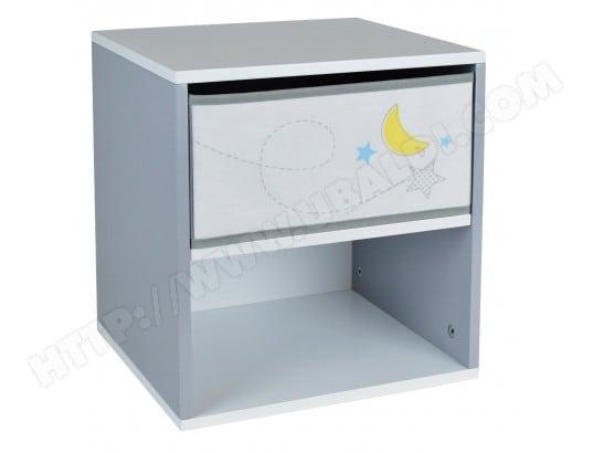 table de chevet gar on en bois theme espace jemini ma 29ca193tabl galak pas cher. Black Bedroom Furniture Sets. Home Design Ideas