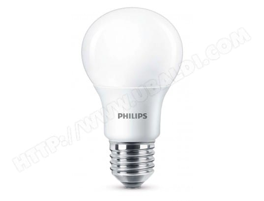 philips ampoule led standard e27 5 5w 40w 2700k blanc chaud lot de 2 philips ma 23ca515phil. Black Bedroom Furniture Sets. Home Design Ideas