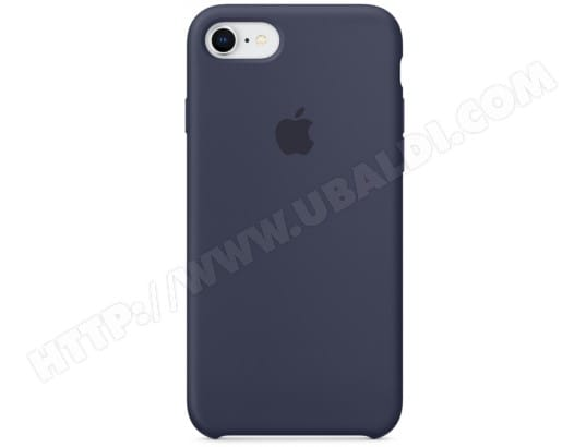 coque en silicone bleu iphone 8