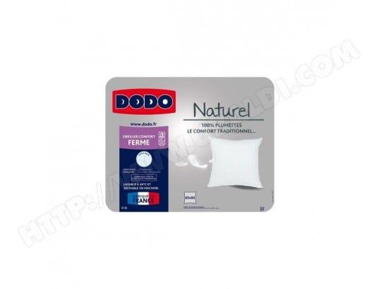 DODO Oreiller PLUMETTES 60x60 cm blanc