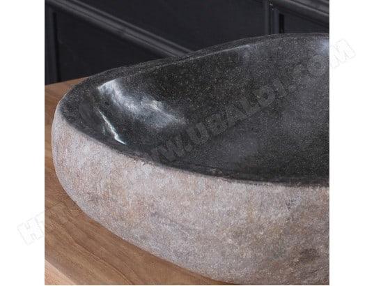 Vasque en pierre de rivière naturelle BOIS DESSUS BOIS DESSOUS  MA-69CA543VASQ-1D0C9 6cfa0df89359