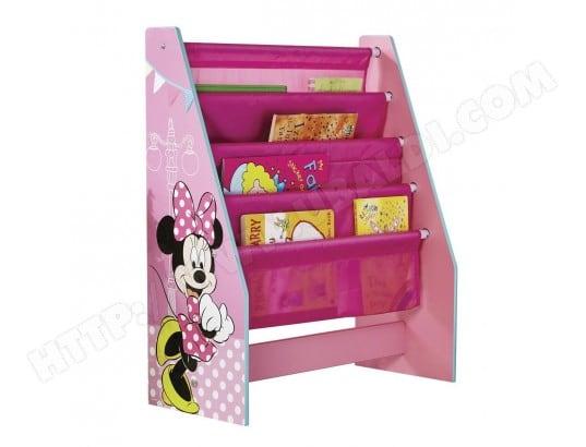 Meuble range-livre Minnie Mouse Disney WORLDS APART MA-32CA456MEUB-3VW07 Pas Cher   UBALDI.com