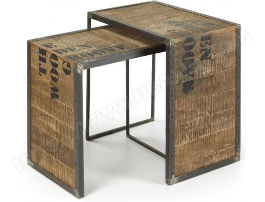 tables gigognes lf evoor pas cher. Black Bedroom Furniture Sets. Home Design Ideas