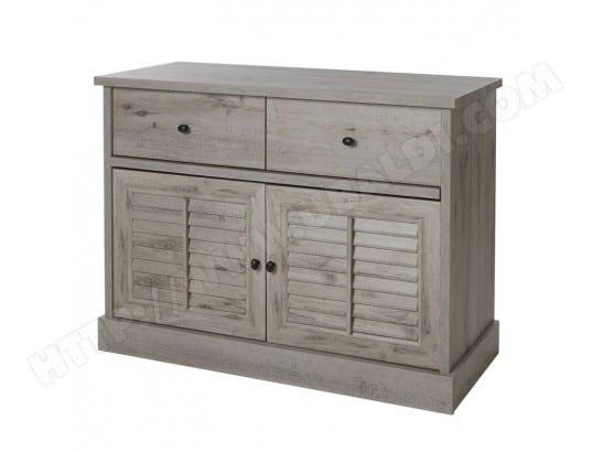 commode contemporaine couleur ch ne gris arizona 2 nouvomeuble ma 82ca192comm havsw pas cher. Black Bedroom Furniture Sets. Home Design Ideas