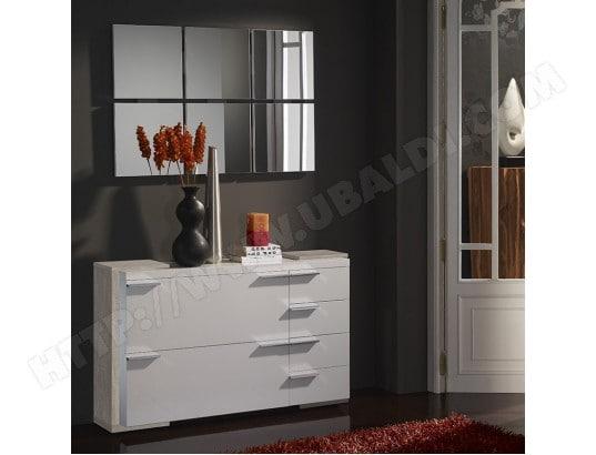 Meuble Chaussures Et Miroir Moderne Blanc Couleur Bois Clair Arucas 2 Nouvomeuble Ma 82ca604meub Ajhzj Pas Cher Ubaldi Com