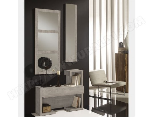 meuble d 39 entr e contemporain couleur bois clair acapulco 5 nouvomeuble ma 82ca551meub v3s29 pas. Black Bedroom Furniture Sets. Home Design Ideas