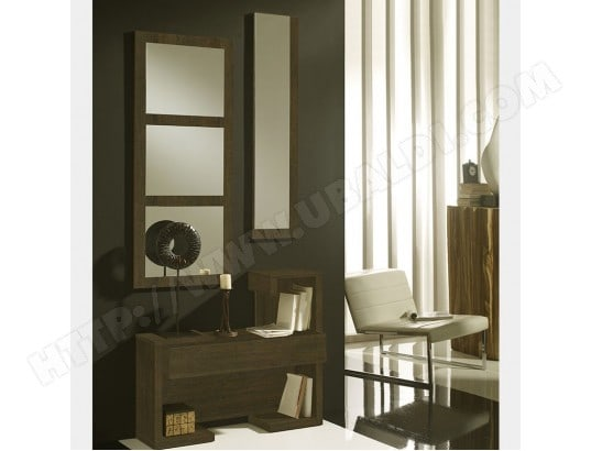 meuble d 39 entr e contemporain couleur ch ne acapulco 6 nouvomeuble ma 82ca551meub j6s37 pas cher. Black Bedroom Furniture Sets. Home Design Ideas