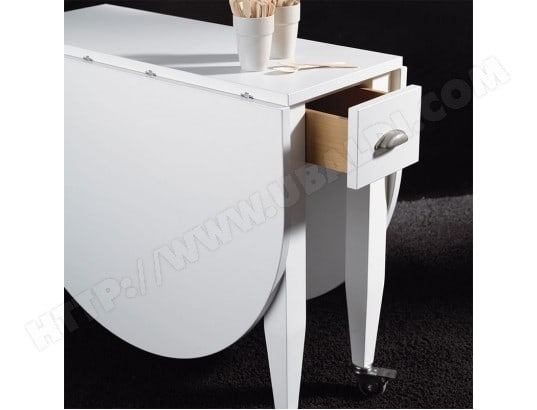 Blanche 82ca182tabl Console Extensible Table Mama Nouvomeuble Ma dxrQoCBeWE