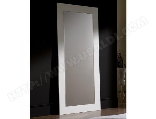 grand miroir blanc design savina nouvomeuble ma 82ca357gran qpa4k pas cher. Black Bedroom Furniture Sets. Home Design Ideas