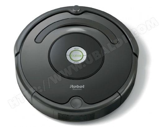 irobot roomba 676 pas cher aspirateur robot livraison gratuite. Black Bedroom Furniture Sets. Home Design Ideas