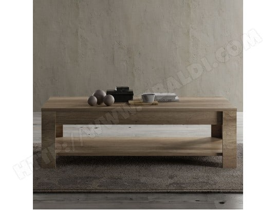 table de salon contemporaine couleur ch ne loggia. Black Bedroom Furniture Sets. Home Design Ideas