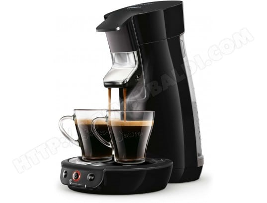 philips hd6563 61 viva caf noir intense pas cher senseo livraison gratuite. Black Bedroom Furniture Sets. Home Design Ideas