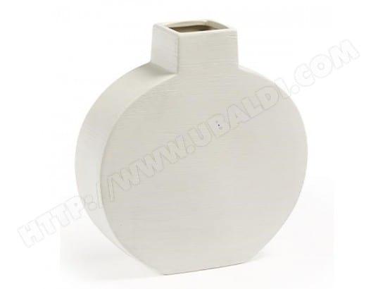 vase d coratif lf loana vase 30cm blanc pas cher. Black Bedroom Furniture Sets. Home Design Ideas