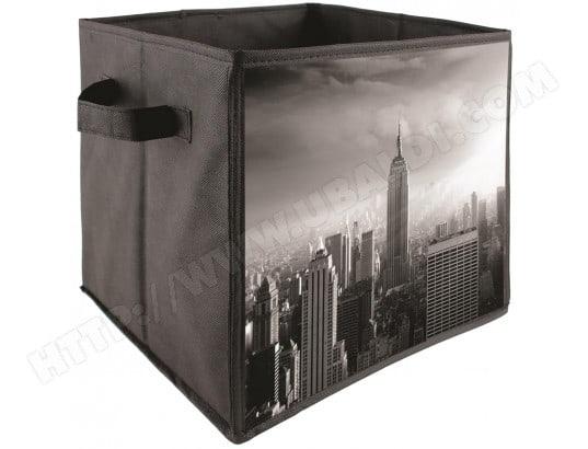 cube panier de rangement pliable d co usa new york. Black Bedroom Furniture Sets. Home Design Ideas