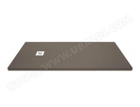 receveur de douche extra plat marron moka 90x120 cm. Black Bedroom Furniture Sets. Home Design Ideas