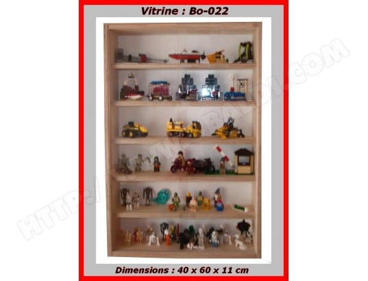 vitrine murale bo 022 pour collection miniatures de parfum figurine statue bmd 32 pas cher. Black Bedroom Furniture Sets. Home Design Ideas