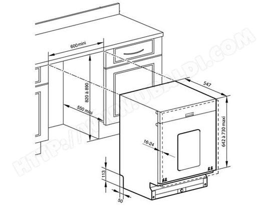 dimension four encastrable brandt. Black Bedroom Furniture Sets. Home Design Ideas