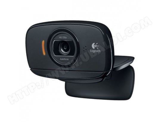 Webcam Logitech C525 HD 720p 8 Mpx PC MAC Noir LOGITECH BBS0201537